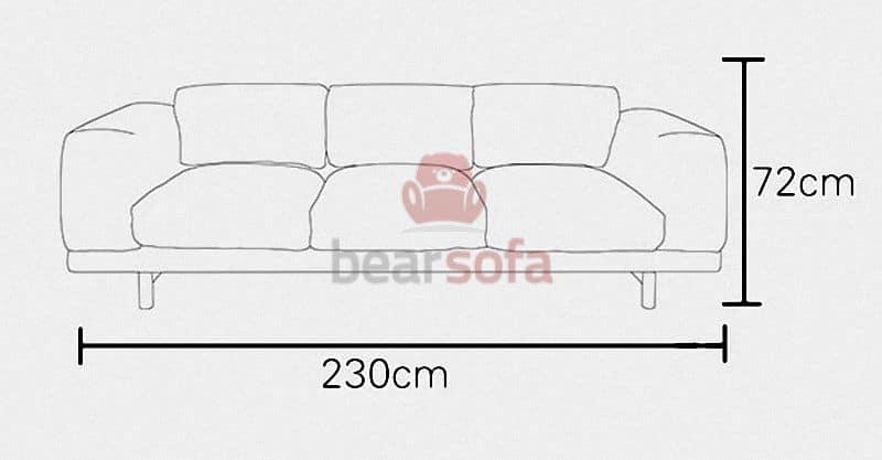 Kích Thước Ghế Sofa Băng Rest Sofa
