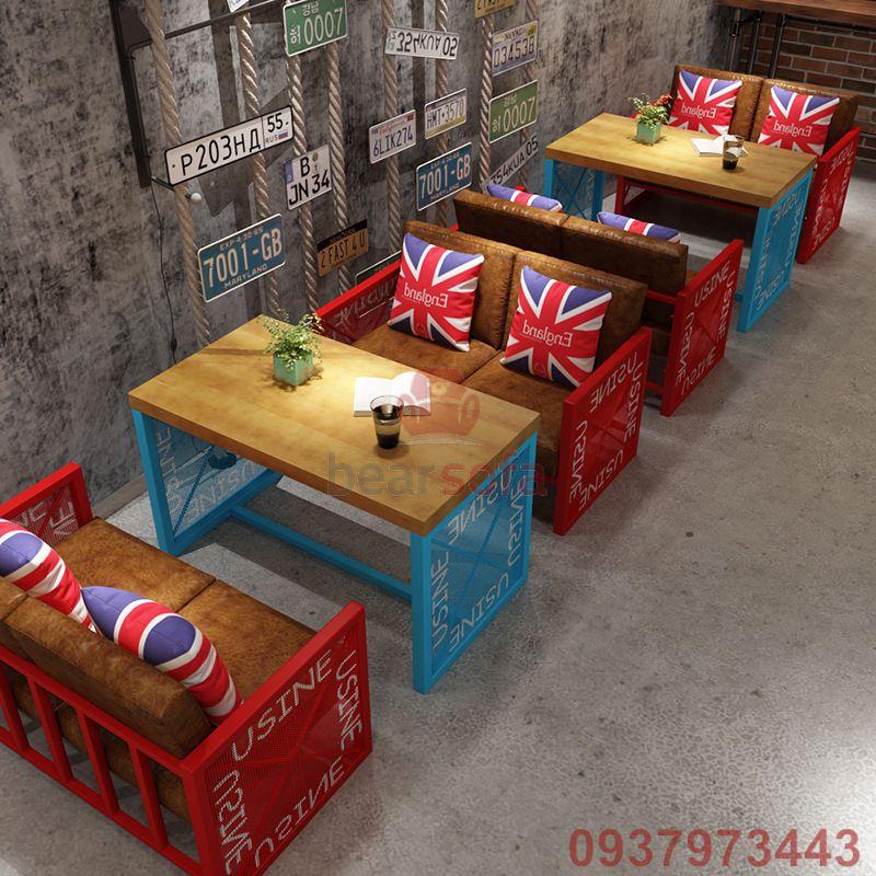 Mẫu ghế sofa cafe đẹp - Mẫu thiết kế ghế sofa đẹp - Mẫu 44