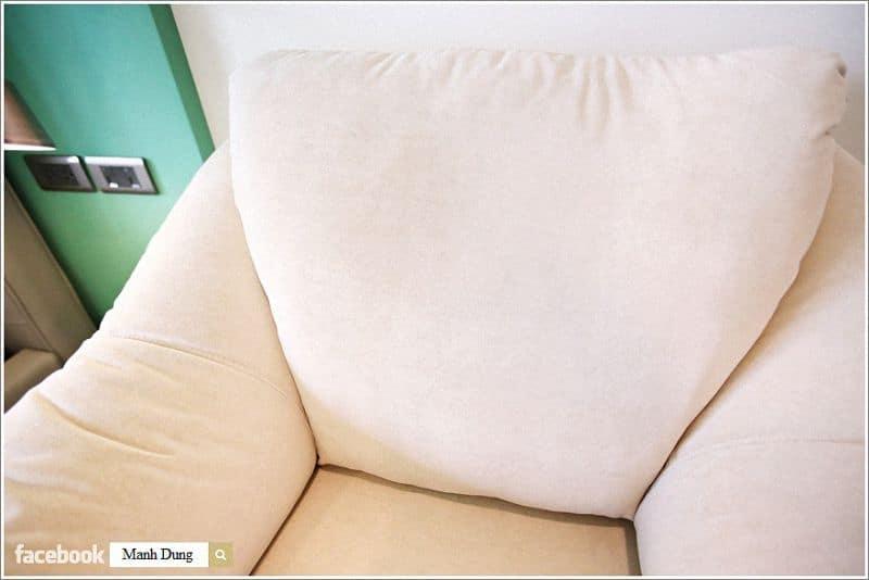 Nệm ghế căng và êm ái